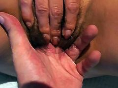 Young and passionate Korean student whore gets laid with two guys. Asian beauty gets her hairy pussy finger fucked and licked. Then narrow eyed cutie gives sensual blowjobs.