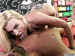 Darryl Hanah gets the pleasure from pussy drilling with hot guy like never before