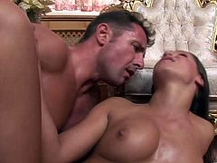 Have fun with this hardcore scene where the beautiful Jenny Baby is fucked silly by a very plucky guy as you take a look at her great body and hear her moan.
