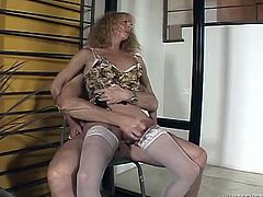 Dirty ass bitch is wearing nylon stockings while fucking hard in provocative transsexual porn clip. Kinky shemale prostitute takes hard cock in her ass. She gets banged brutally.