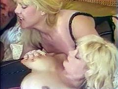 One of those blond dumpy hoes enjoyed steamy sideways style ass fuck. The other one got her dirty asshole pounded from behind rough. Look at that steamy anal fuck in The Classic Porn sex clip!