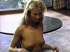This light haired insatiable sweetie couldn't refuse her old buddy. She presented him long hoped for BJ. Have a look at that steamy oral sex in The Classic Porn sex clip!