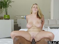 Blacked brings you a hell of a free interracial porn video where you can see how the alluring blonde belle Brooke Wylde enjoys a big black cock inside her cunt.