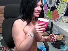 Long and raven haired filthy chick with big tits smoked a cigarette after being banged in mish pose tough. Her asshole got fingered meanwhile. Look at that steamy sex in My XXX Pass porn video!