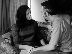 Finally that feverish mature stud managed to seduce that bonny dark haired cutie and pound her kitty in missionary style.Take a look at that hot sex in The Classic Porn sex clip!