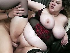 BBW Secret brings you a hell of a free porn video where you can see how a busty brunette BBW gets banged very hard and deep into a breathtakingly intense orgasm.