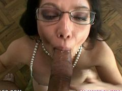 Hot raven haired tramp with big boobs provides her kinky man with solid tit fuck and blowjob. Look at this passionate chubby wench in My XXX Pass porn video!