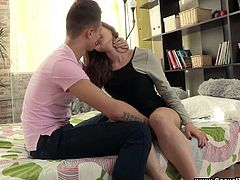 Feisty Teenage Couple Enjoys In Missionary And Doggystyle Sex