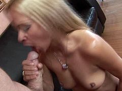 Kinky and attractive blond haired bitch with nice body gets a cunnilingus and gives a head. Have a look at this chick in All Porn Sites Pass sex clip.