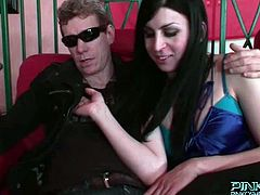 PinkO Shemales brings you a hell of a free porn video where you can see how the vicious blonde shemale Juliette Stray gets assfucked hard into a massive orgasm.