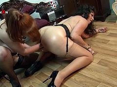There's nothing like watching these mature lesbians fisting each other's pusses. Sit back, pull down your pants and get ready for the hottest sex scene ever.