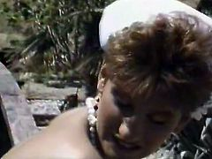 Short haired torrid medical chick had nice walk with her sick patient outdoors. She enjoyed getting her thirsting pussy eaten by that hot dude. Look at that steamy sex in The Classic Porn sex clip!
