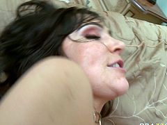 Buxom temptress Diana Prince gets her asshole fucked hard and deep
