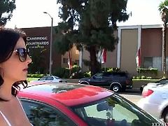 Casey Cumz fucks her way out of a parking ticket