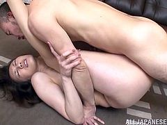 Have fun with this hardcore scene where the hotrny Misuzu Takashi is drilled by a guy as you hear her moan like never before.