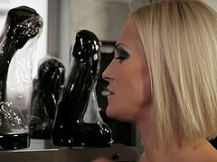 Life Selector brings you a hell of a free porn video where you can see how this horny brunette slut enjoys a cock and the goes lesbo while assuming very hot poses.