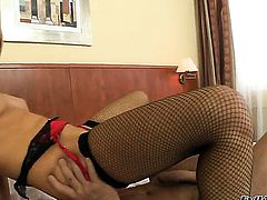 Aleska Diamond is one oral slut that gives Christoph Clarks beefy cock a try before ass fucking
