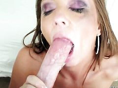 Jonni Darkko buries his erect worm in delicious Maddy OReillys mouth
