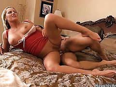 Johnny Castle makes his sturdy love stick disappear in dangerously seductive Zoe Holidays love hole