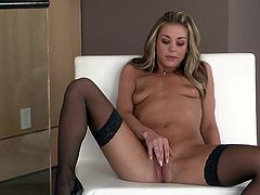 Michele Monroe is one extremely naughty babe who just loves to shove all kinds of things inside of her twat. See her masturbating and reaching multiple orgasms.