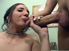 Bootylicious whore Kelly Divine gives hot blowjob to her lover