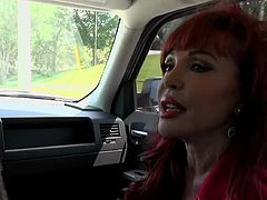 Get a load of this great hardcore scene where a smoking hot milf is fucked by a stud as she wears stockings and you hear her moan.