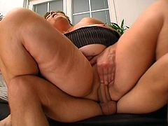 Watch this mature babe as she fucks this big dick up inside her beautiful big body seen in this tube movie video.