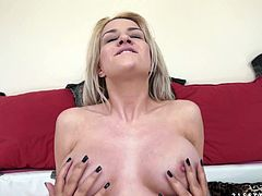 Desirable blonde princess with big perfect boobs gets her dripping wet trench licked by bosomy brunette mom. Thereafter dark-haired slut gets her poon fingered by blondie.