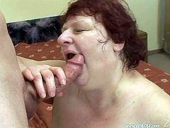 Ugly obese strumpet provides man with blowjob and gets her stinky cunt fucked doggystyle. Thereafter she gets pounded in a sideways and missionary positions.