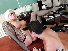 Nikita Von James enjoys the earth moving fuck with hot bang buddy Giovanni Francesco