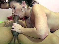 Dsnoop is playing dirty games with curvy brunettes Sara Jay and Selma Sins. The black stud lets the sluts suck his weiner, then fucks their coochies deep and hard.