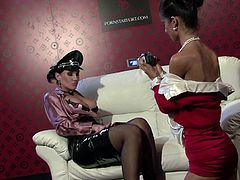 Make sure you take a look at this hot lesbian scene where these kinky ladies make you bust a nut as they play with one another.