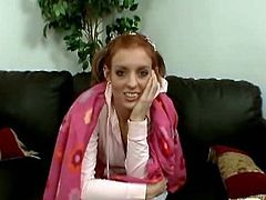 Pretty hot redheaded babysitter Riley Shy is speaking with her boss. He wanted to fuck her long time and it is all about to become reality!