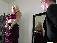 Make sure you check out this hardcore scene and watch the busty blonde milf Alura Jenson end up with a messy facial after being fucked wearing lingerie.