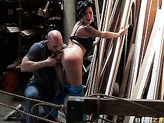 Johnny Sins gets pleasure from fucking fuck crazed Eva Angelinas backdoor
