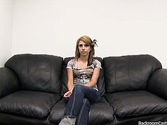 Backroom Casting Couch brings you a hell of a free porn video where you can see how this hot blonde teen gets banged deep and hard into a massively hot orgasm.