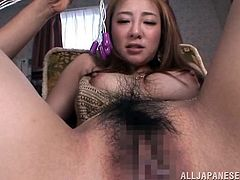 Maker sure you check out Hana Nonoka's big natural tits and her perfect ass in this hardcore POV where she's fucked after being masturbated.