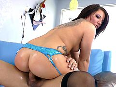 The gorgeous shemale babes Gianna Rivera gets her big hard cock sucked by Casey Cumz and ends up screwing her delicious little pussy.
