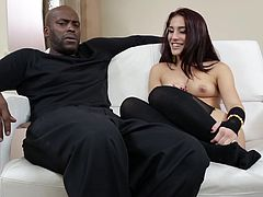 Make sure you have a look at this hardcore interracial compilation video where these horny ladies are fucked silly by big black cocks.