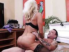 Chica Tara Holiday with phat ass and smooth muff gets doggystyled by hot dude Kurt Lockwood