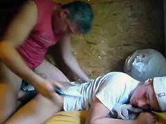 Check out this young twink going on camping with his younger dude. Watch as this dude got his asshole banged hard from behind. He is crazy about big meaty cock.