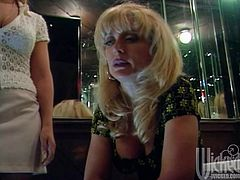 Press play on this heart stopping lesbian scene where these sexy ladies have sex as you watch astonished and with a serious boner.