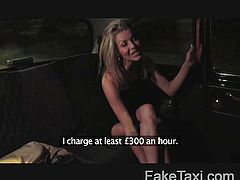 FakeTaxi - Street escort loves to suck cock