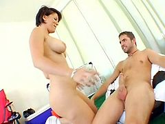 Dirty Milf Kayla Synz Gets Young Cock and Spunk