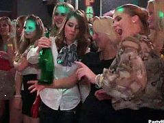 You might be in a surreal dream to see these combination of fresh teens, hot babes and horny milfs into one party craving for  hardcore action and huge dicks.