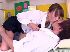 Japanese Tutor Gives Student A Hardcore Pounding