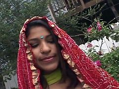 Indian Skank Priya touches the dick And receives the hot sit on onto It