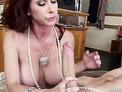 Danny D gets his always hard tool sucked by before anal fun