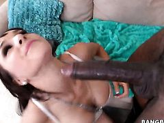 Incredibly hot stunner Cytherea has sex fun with hard dicked dude