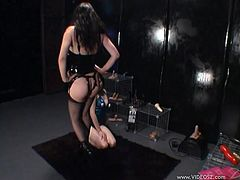 Make sure you check out this bondage video where these horny ladies please end torture one another as you get a boner.